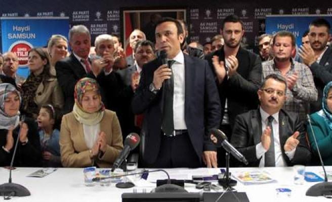 Osman Genç, Büyükşehir Belediyesi'ne Aday Adaylığını Açıkladı