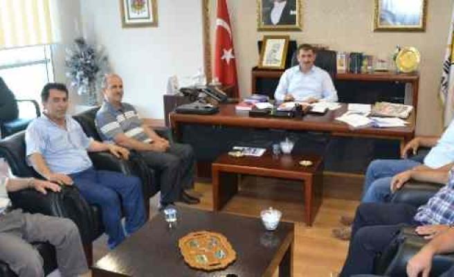 Samoff Ve Servisçilerden Başkan Köktaş'a Ziyaret