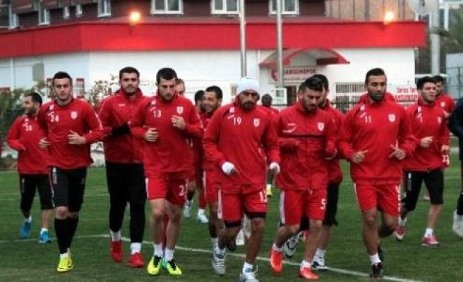 Samsunspor Bucaspor Hazırlıklarına Başladı