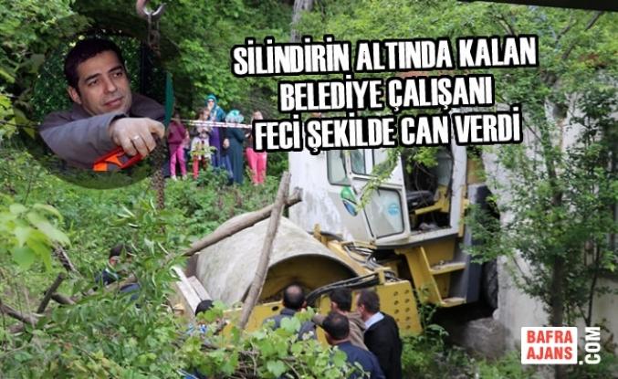 Ayvacık'ta Silindirin Altında Kalan Belediye Çalışanı Öldü