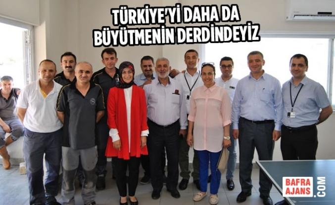 """Elif Coşkun Bilgin, """"Samsun Erdoğan'ın Yanında"""""""