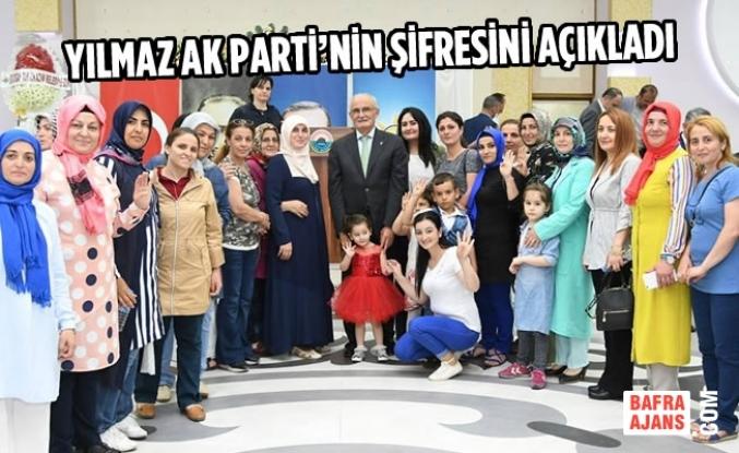Yılmaz: AK Parti İktidarıyla Birlikte Ülkeye Huzur Geldi