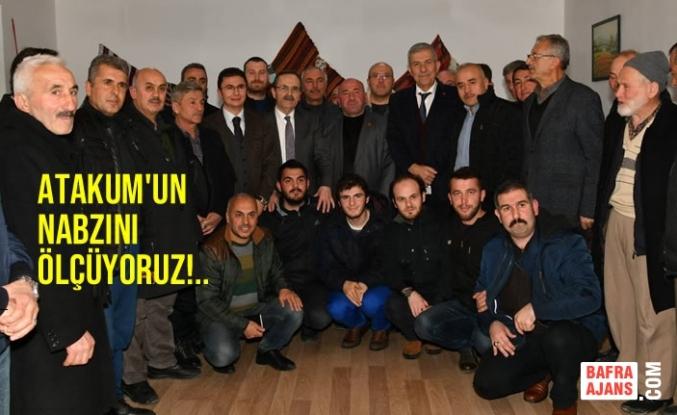Başkan Zihni Şahin, Akalan Mahallesi'nde Halkla Buluştu