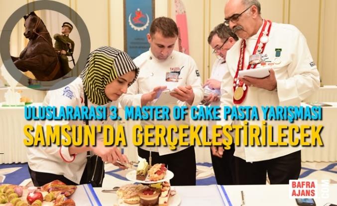 Uluslararası 3. Master Of Cake Pasta Yarışması