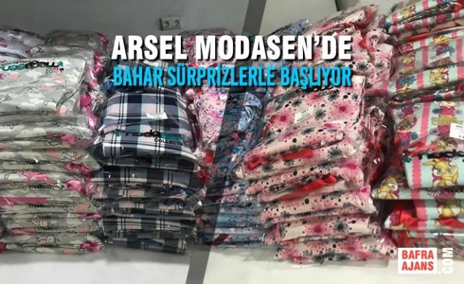 Arsel Modasende Bahar Sürprizlerle Başlıyor