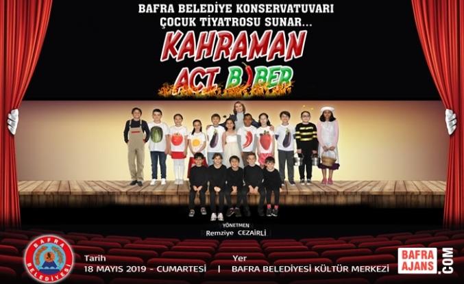 Bafra Belediyesi'nden Çocuklar İçin Tiyatro