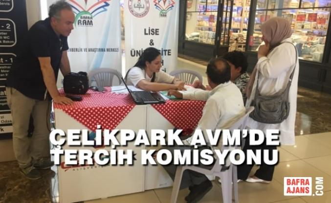 Çelikpark AVM'de Tercih Komisyonu