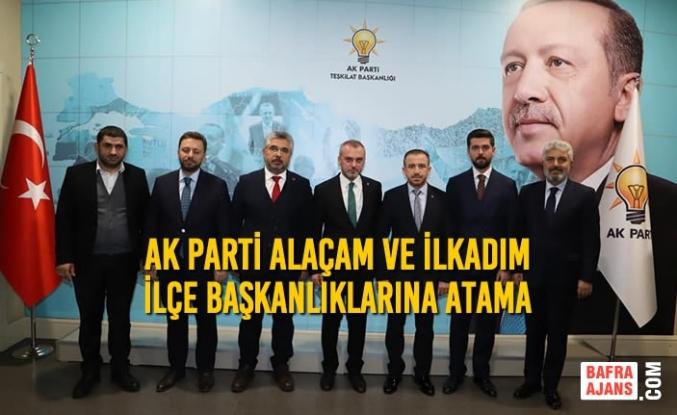 AK Parti'de 2 İlçe Başkanı Belli Oldu
