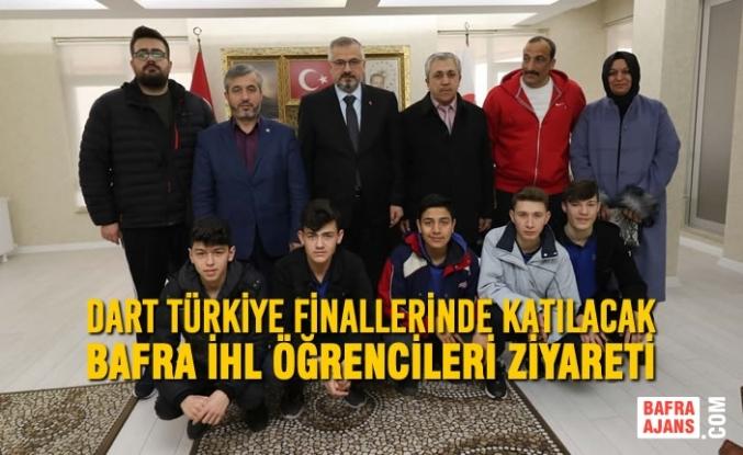Dart Türkiye Finallerinde Katılacak Bafra İHL Öğrencileri Ziyareti