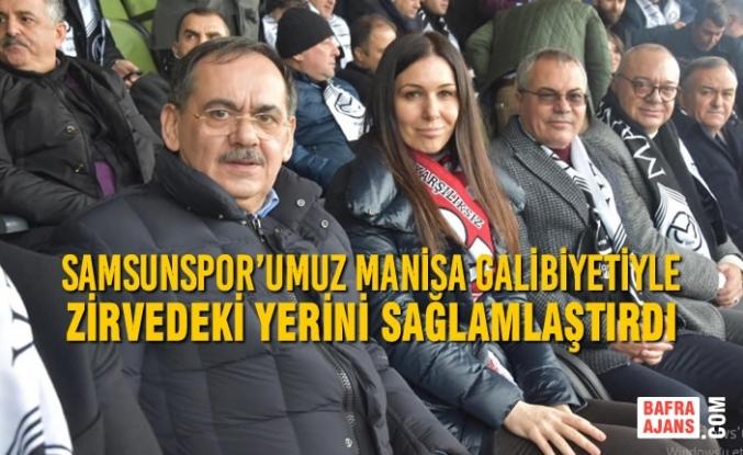 Karaaslan: Samsunspor'umuz Manisa Galibiyetiyle Zirvedeki Yerini Sağlamlaştırdı