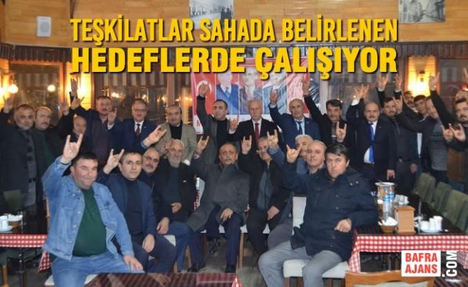 Samsun MHP'de İlçeler Ölçülebilir Hedeflerle Bir Yarış Halinde