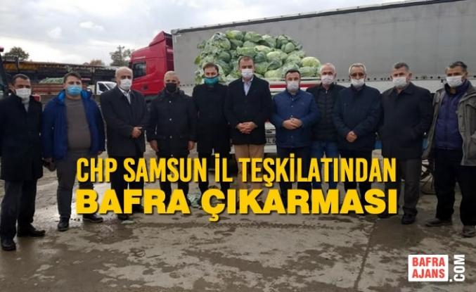 CHP Samsun İl Teşkilatından Bafra Çıkarması