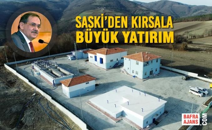 SASKİ'den Kırsala Büyük Yatırım