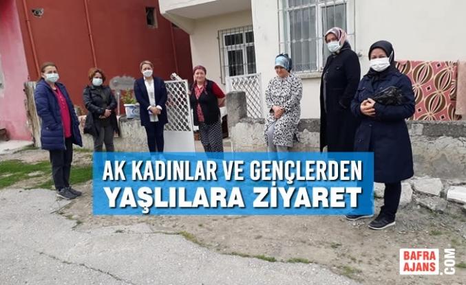 AK Kadınlar ve Gençlerden Yaşlılara Ziyaret