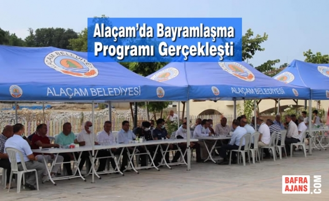 Alaçam'da Bayramlaşma Programı Gerçekleşti