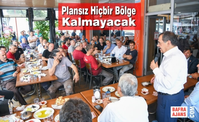 Başkan Demir, Gülsan Sanayi Esnafına Geleceğin Şehri Samsun'u Anlattı