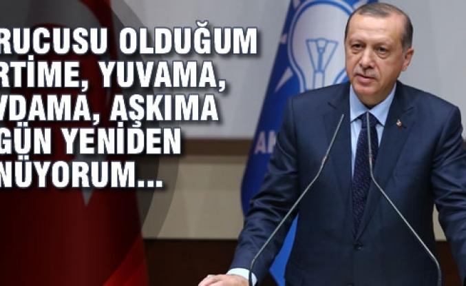Cumhurbaşkanı Erdoğan; AK Parti'ye Yeniden Üye Oldu