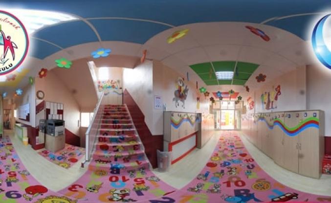 Kızılırmak Anaokulu 360 Derece Sanal Tur Uygulaması