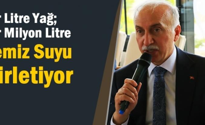Samsun'da Çevreyi Kirletecek 15 Ton Atık Yağ Toplatıldı