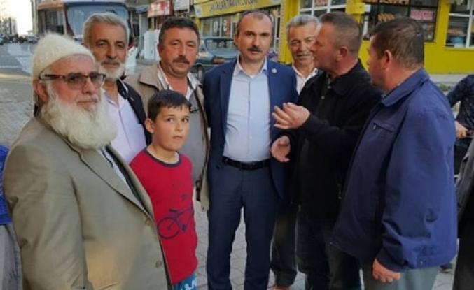 Tekkeköy'de Kırcalı'ya Sevgi Seli