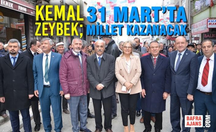 Kemal Zeybek; 31 Mart'ta Millet Kazanacak