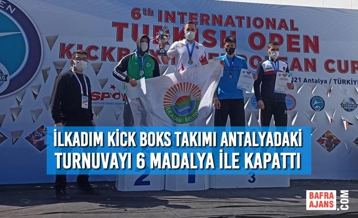İlkadım Kick Boks Takımı Antalyadaki Turnuvayı 6 Madalya İle Kapattı